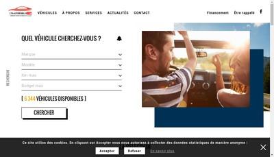Site internet de Lys Automobiles