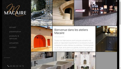 Site internet de SARL Jean Gabriel Macaire