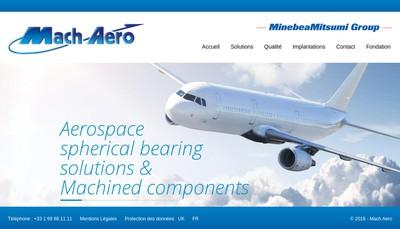 Site internet de Mach Aero - Bretigny Rectification