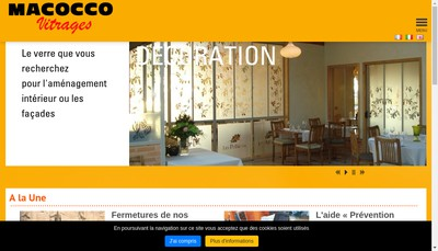 Site internet de Macocco Midi