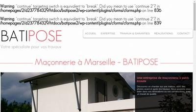 Site internet de Batipose