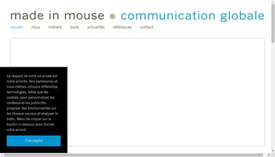 Site internet de Made In Mouse