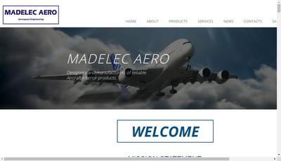 Site internet de Madelec Aero