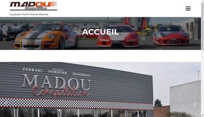 Site internet de Madou Competition