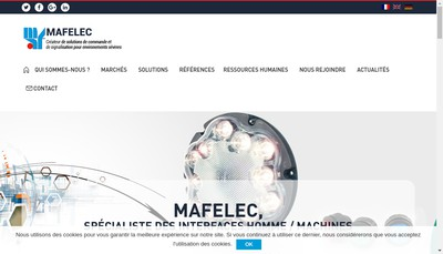 Site internet de Mafelec