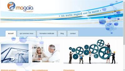 Site internet de Magaia