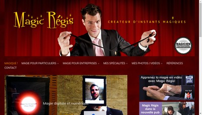 Site internet de Magic Regis Events