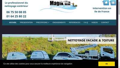 Site internet de Magik'Lin