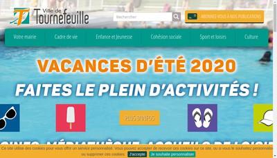 Site internet de Tourne'Feuille Copie Service