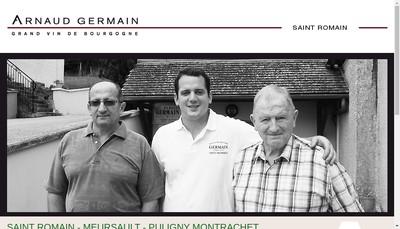 Site internet de Maison Arnaud Germain