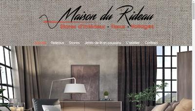 Site internet de La Maison du Rideau