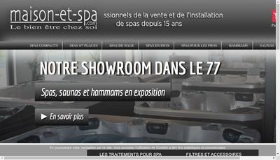 Site internet de Maison-et-Spa