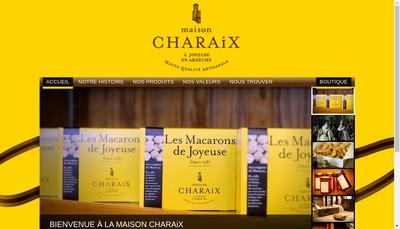 Site internet de Maison Charaix
