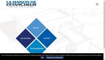 Site internet de La Maison de l'Etancheur 85
