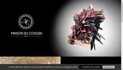 Site internet de Maison du Coussin
