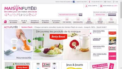 Site internet de Maison Futee