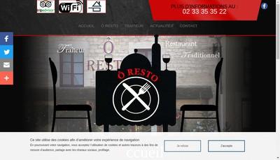 Site internet de O Resto