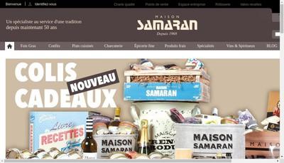Site internet de Maison Samaran