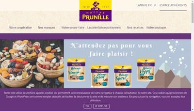 Site internet de Maitre Prunille