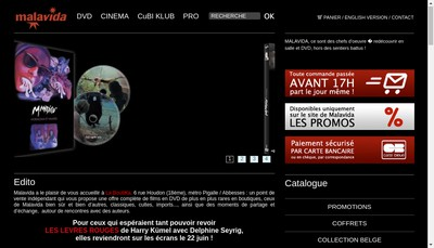 Site internet de Malavida