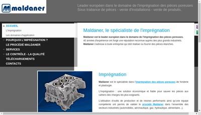 Site internet de Maldaner