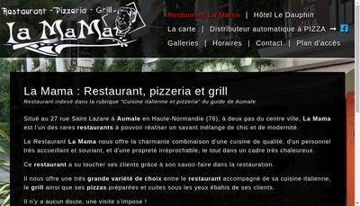 Site internet de La Mama