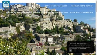 Site internet de Ma Maison Bleu Provence