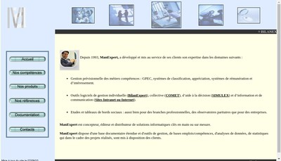 Site internet de Manexpert