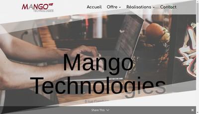 Site internet de SARL Mango Technologies