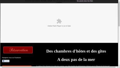 Site internet de Manoir de Keringant