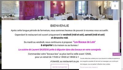 Site internet de Manoir de la Boulaie