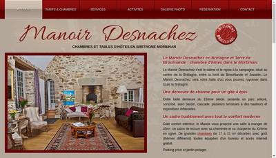 Site internet de SARL Desnachez