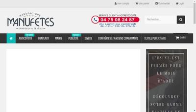 Site internet de SA Manufetes