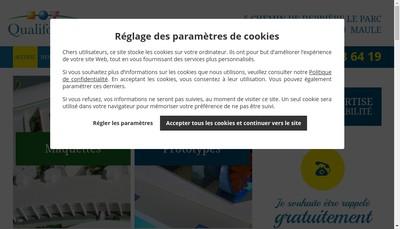 Site internet de Qualiforme