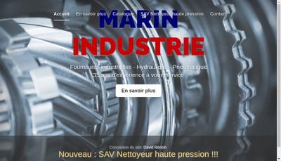 Site internet de Marin