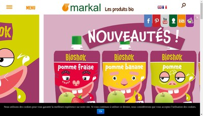 Site internet de Markal