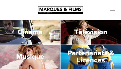 Site internet de Marques et Films