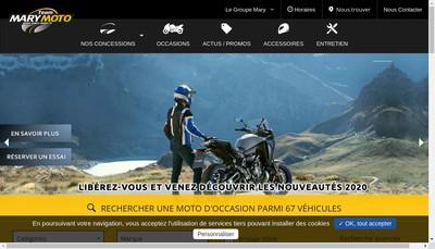 Site internet de Mary Motos