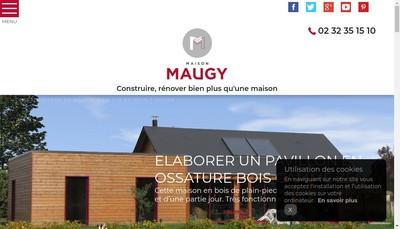 Site internet de Maison Maugy
