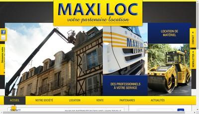 Site internet de Maxiloc