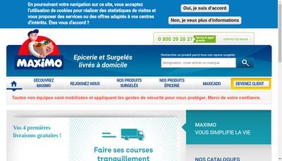 Site internet de A la Lucarne de l'Immobilier