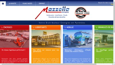 Site internet de Etablissements Mazzella