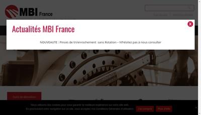 Site internet de Mbi France