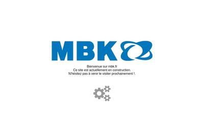 Site internet de Mbk Industrie