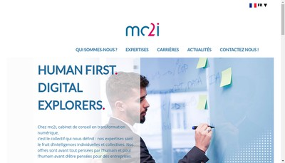 Site internet de MC 2 I