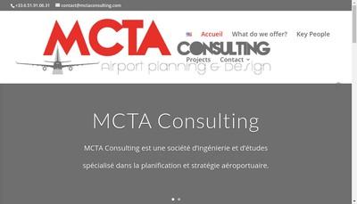 Site internet de Mcta Consulting