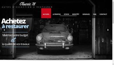 Site internet de 1961 Classics Classic 78
