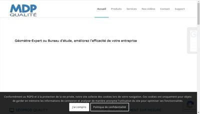 Site internet de Mdp Qualite