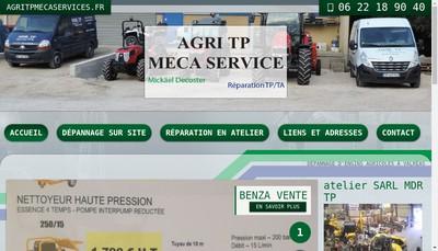 Site internet de Agri Tp Meca Services