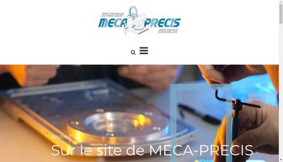 Site internet de Meca-Precis-Meca-Moteurs